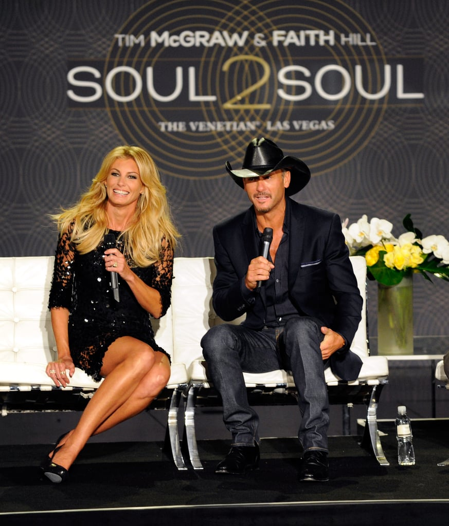 Husband and wife Tim McGraw and Faith Hill announced plans of their upcoming Soul2Soul performances.