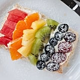 Mini Rainbow Fruit Pizzas