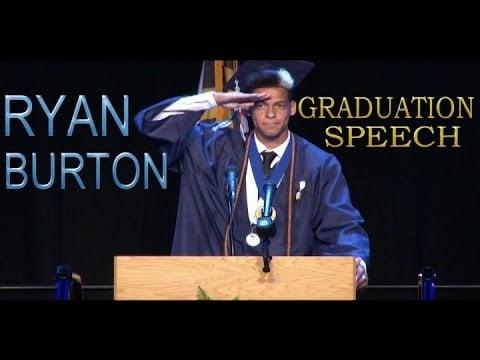 Ryan Burtons, Senior Class President of La Plata High School (2015)