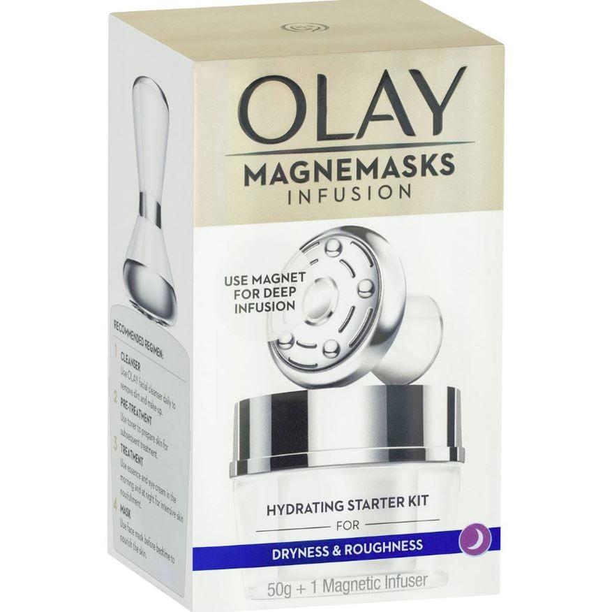 Olay Magnemasks Infusion Hydrating Starter Kit ($27.50, originally $55)