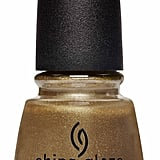 China Glaze Street Regal Nail Polish in Truth in Gold