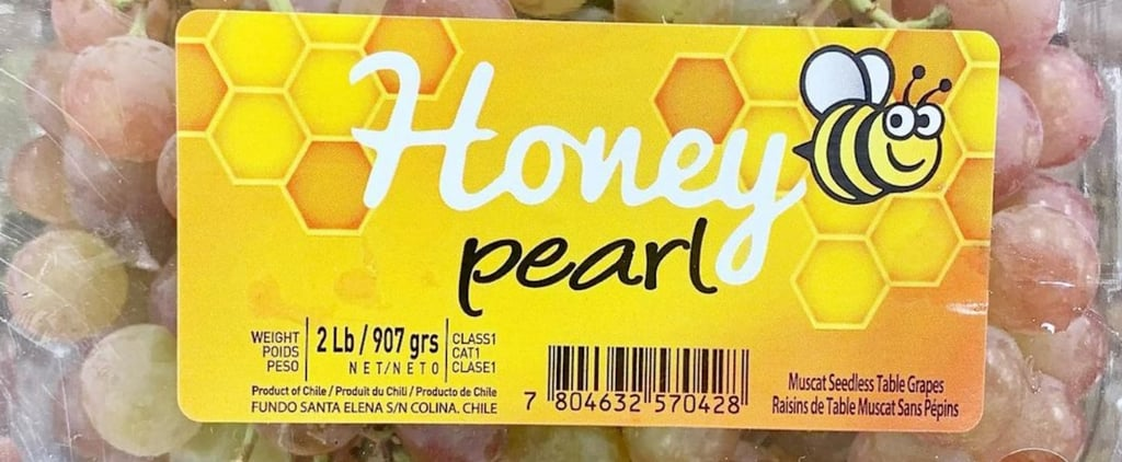 New Honey Pearl Grapes at Trader Joe's