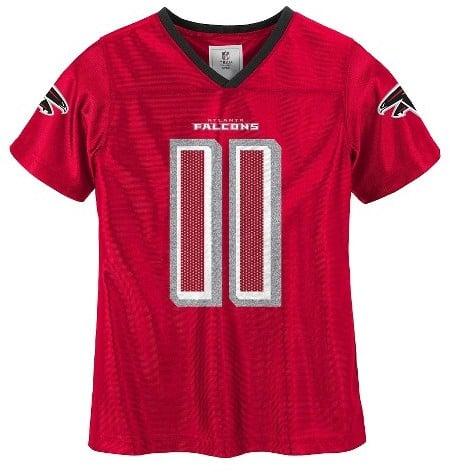 d6a742bb Atlanta Falcons Girls' Julio Jones Glitter Numbers Jersey | Patriots ...