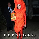 Katy Perry as a Flamin' Hot Cheeto