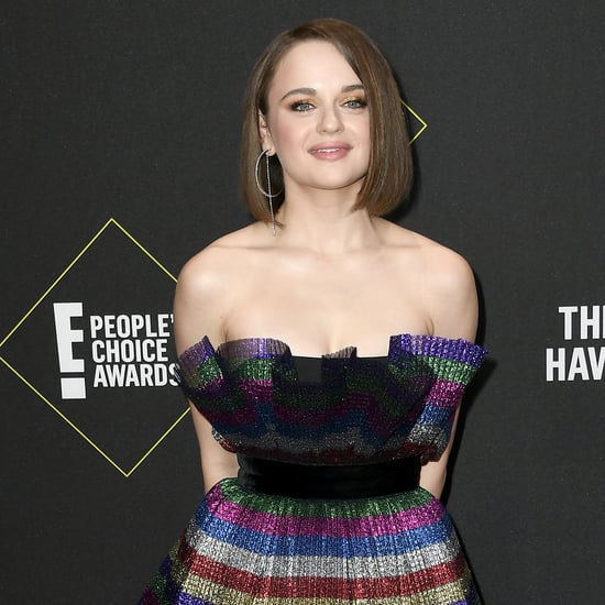 Joey King's Iridescent Nail Art at People's Choice Awards