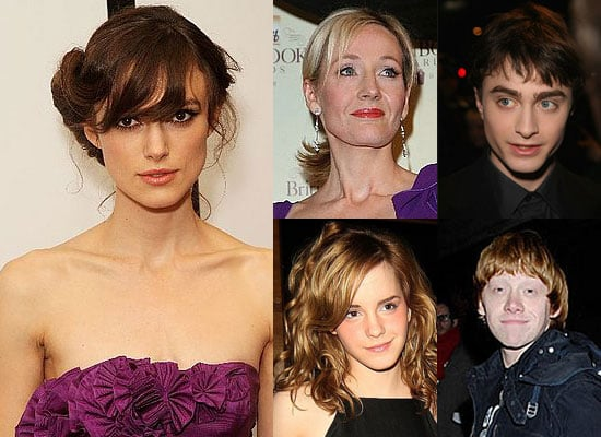 Photos Of Keira Knightley, Daniel Radcliffe, Emma Watson, Rupert Grint And J K Rowling As They Make Forbes' Top Earners List