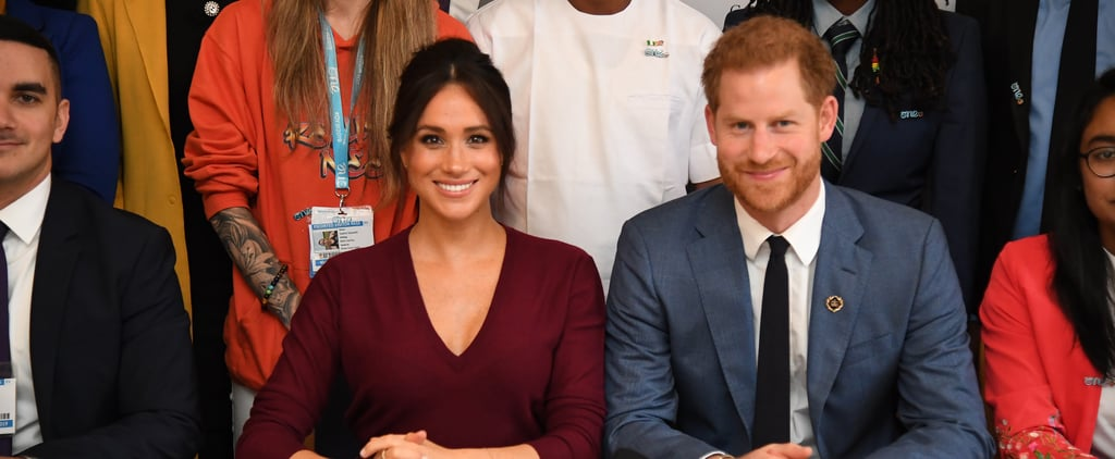 Meghan and Harry Attend Gender Equality Roundtable 2019