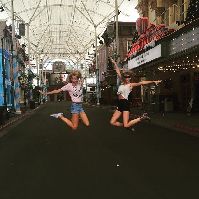 "On Sunday, Taylor Swift shared a photo on Instagram of her and Blake Lively catching some air in an Australian theme park. The singer, who is currently on tour Down Under, captioned the cute photo, ""Yesterday was such an amazing day off-- roller coasters, kangaroos and LOLs with @blakelively See you tonight, Adelaide!"" Earlier in the weekend, Taylor also posted two shots of herself hanging out with a couple of kangaroos, saying, ""I didn't know 'kangaroo selfies' were a thing. But they are, and this is one."" In another photo, Taylor is shown trying to pet one, and she jokingly wrote, ""Me: Please love me. Kangaroo: No."" Taylor has been very active on Instagram since announcing her hiatus: she's shared a whole host of frame-worthy moments, five of which nabbed her spots on the list of most ""liked"" Instagram photos of 2015. Keep reading to see Taylor's latest posts, and then check out why she's having the best year ever!"