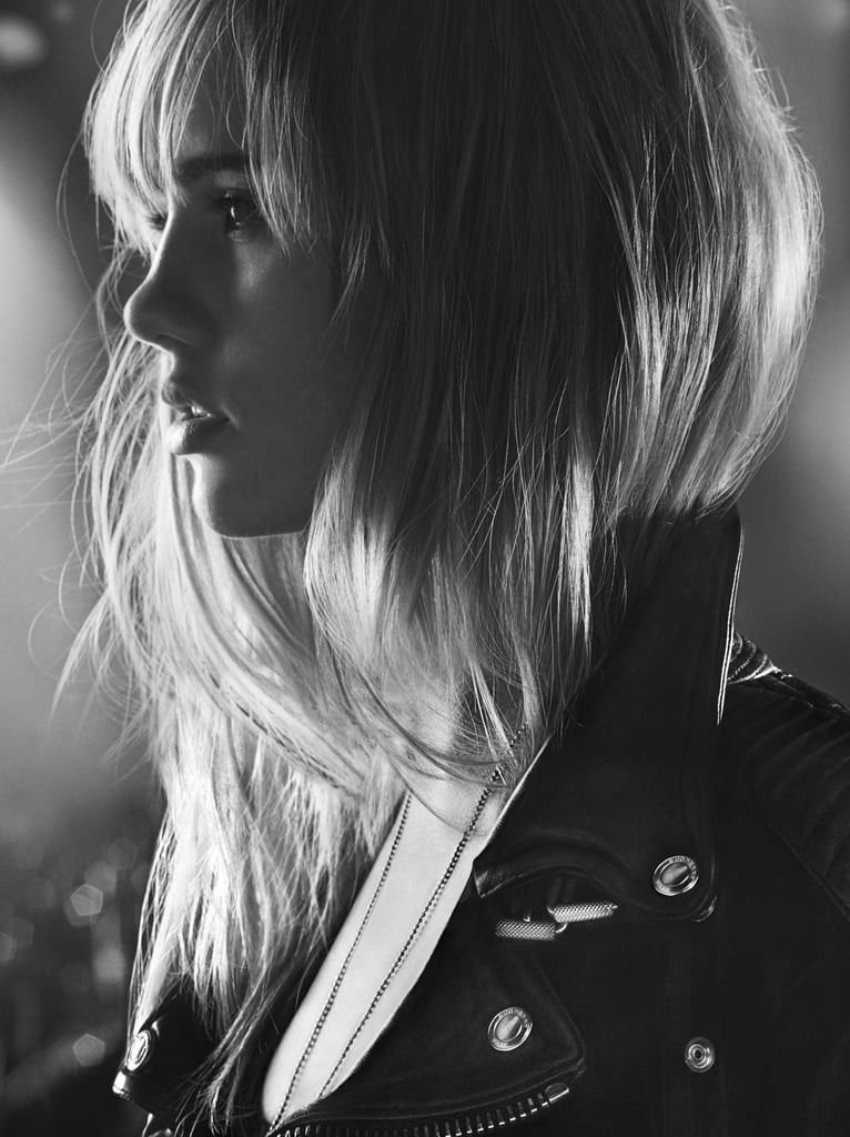 Suki Waterhouse Snuggles Up With a New Man For Burberry