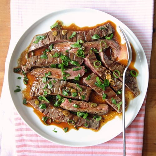 Postgrill Marinated Skirt Steak