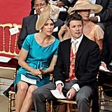 The couple attended the Monaco royal wedding of Prince Albert and Princess Charlene in July 2011.