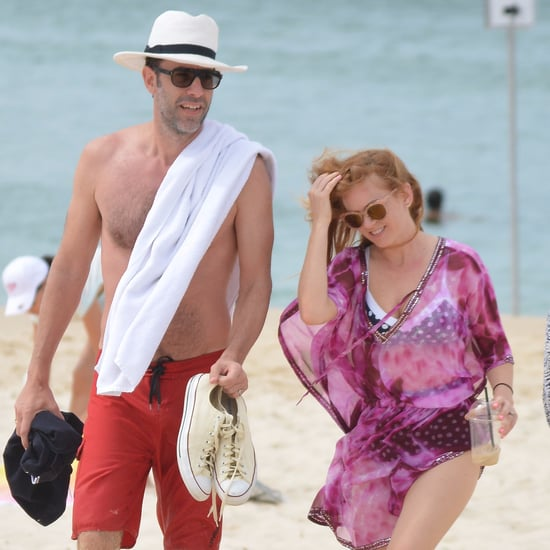 Sacha Baron Cohen and Isla Fisher Australia Vacation Photos