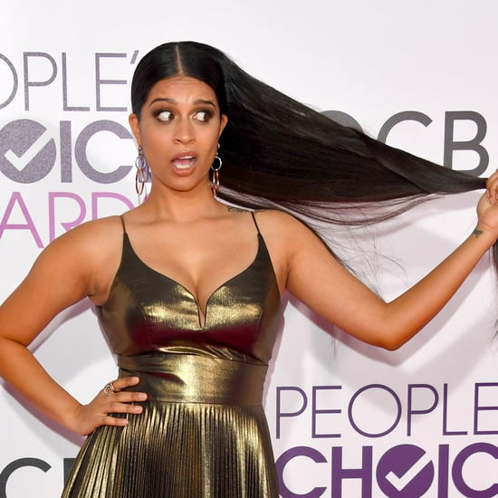 Lilly Singh Beauty at the 2017 People's Choice Awards