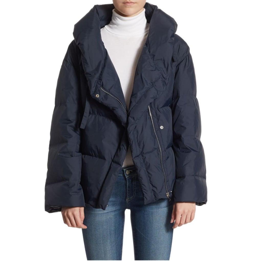 One Shoulder Coat