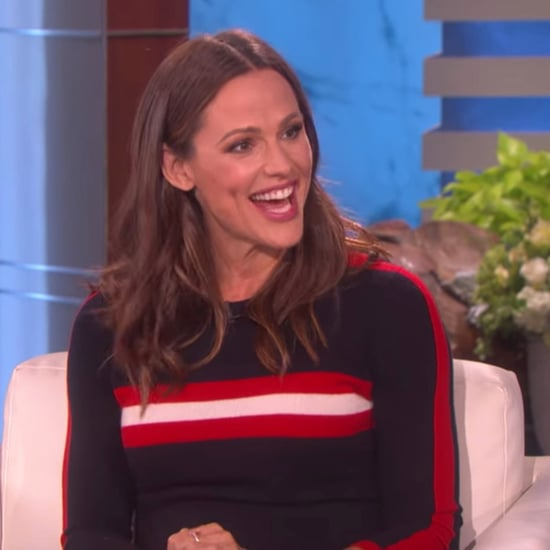 Jennifer Garner Talking About First Pregnancy on Ellen