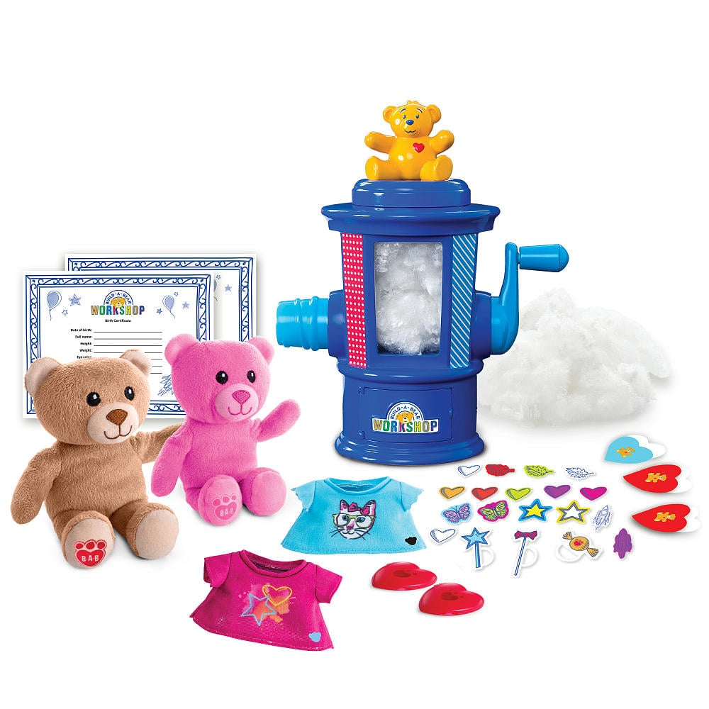For 4-Year-Olds: Build-A-Bear Workshop Stuffing Station