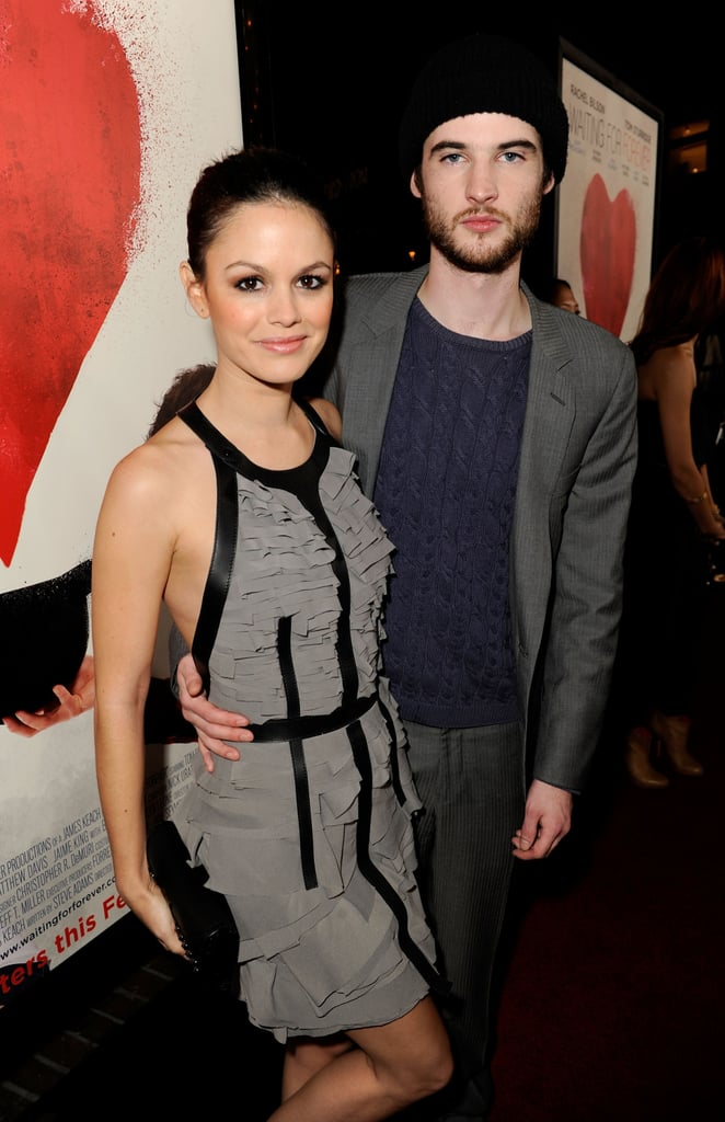 Pictures of Rachel Bilson and Tom Sturridge at the Waiting For Forever Premiere