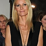 We are a little obsessed with this angel wing necklace — and Gwyneth's triceps.