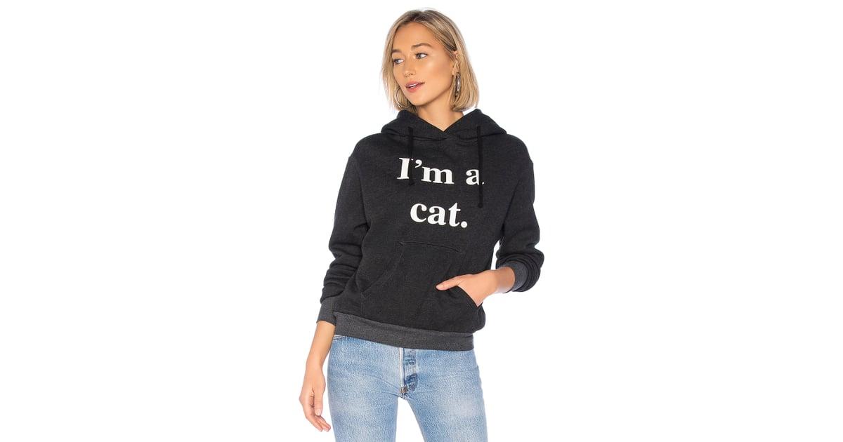 3aa1fee2e5e Hoodie Cat Couture Stefani s Wildfox Gwen In Clean Black EZPSq7x