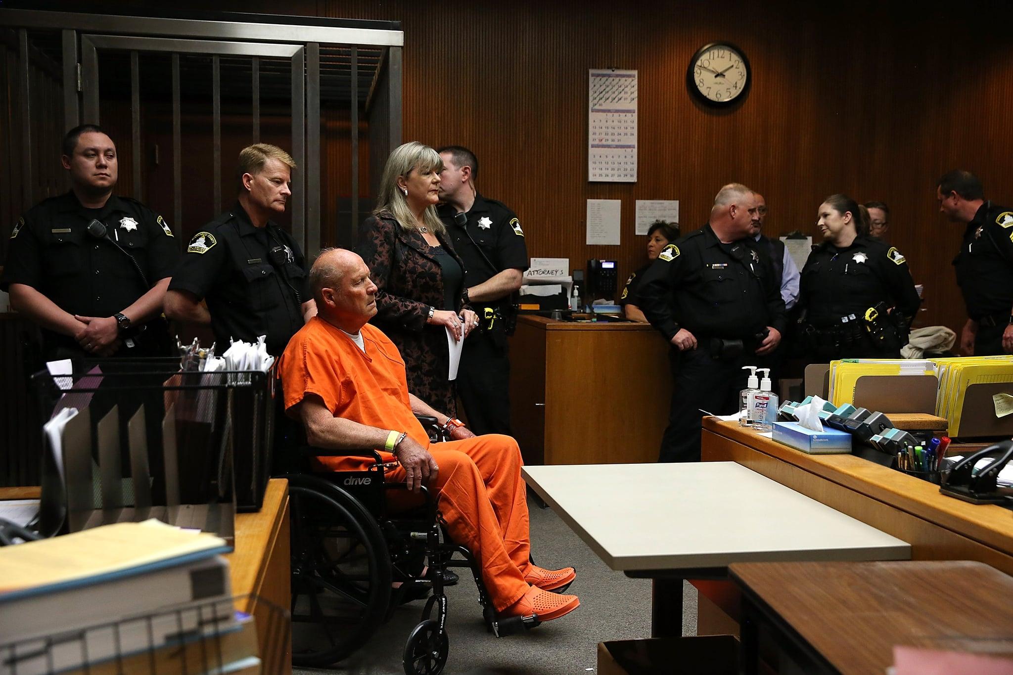 SACRAMENTO, CA - APRIL 27:  Joseph James DeAngelo, the suspected