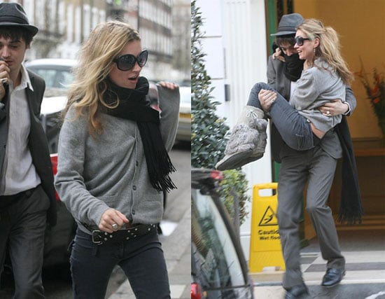 Pete Carries Kate Away (From the Paps)