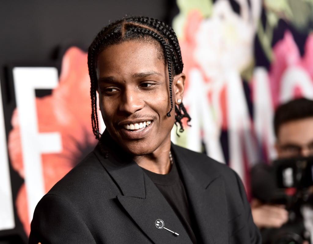 A$AP Rocky at the 2019 Diamond Ball