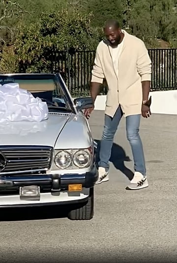 Gabrielle Union Surprised Dwyane Wade With a Vintage Car