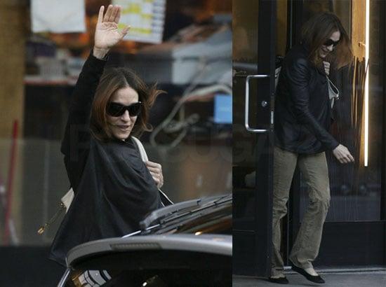 Sarah Jessica Parker Goes Dark in Manhattan