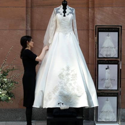 Spotted! The First High Street Replica of Kate's Wedding Dress