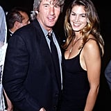Cindy Crawford and Richard Gere were married from 1991 to 1995.