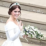 Princess Eugenie Wedding Hair and Makeup