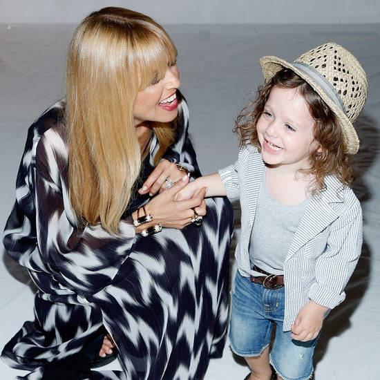 Rachel Zoe at New York Fashion Week With Rodger and Skyler