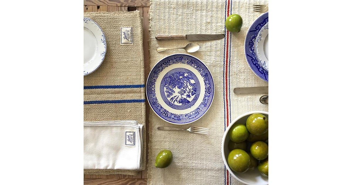 French Grain Sack Table Runner ($139) | Laurel Mercantile | POPSUGAR Home  Photo 5
