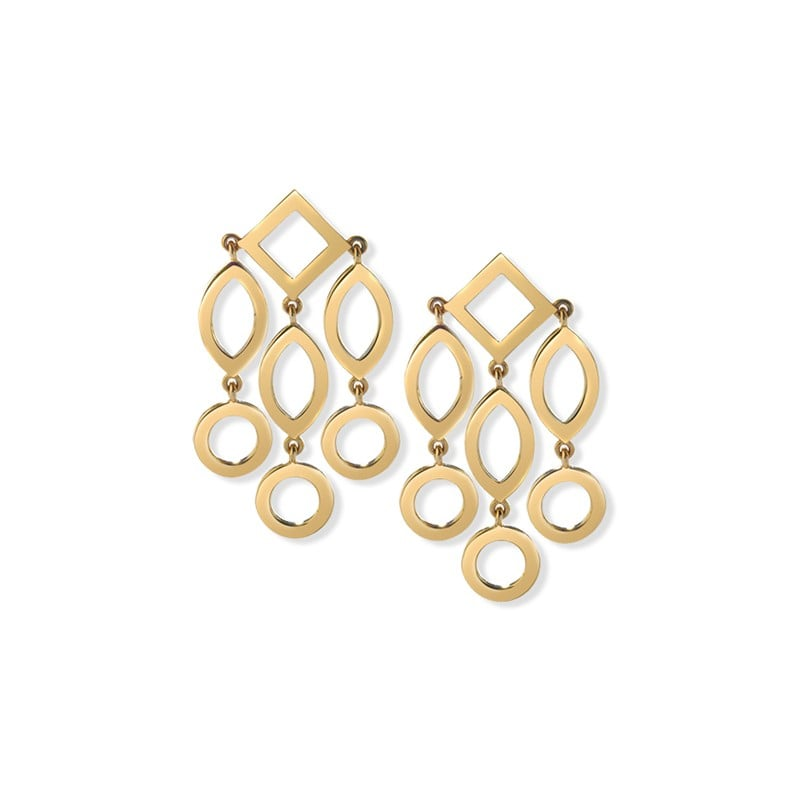 Our Pick: Cassandra Goad Temple of Heaven Gold Earrings