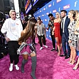 Ariana Grande Goes to the 2018 MTV VMAs Without Ponytail