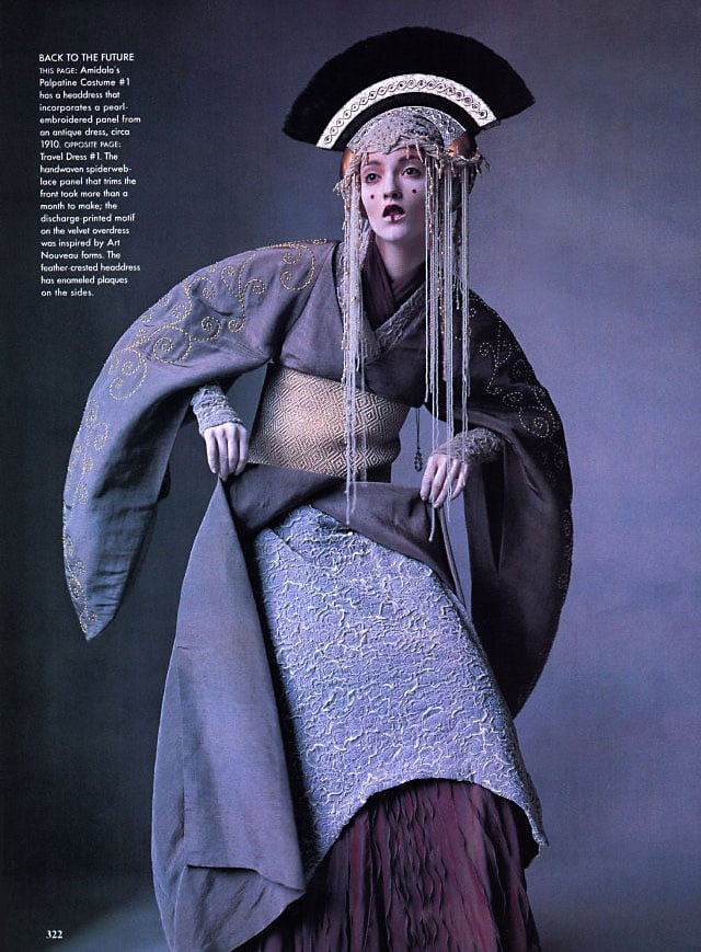 """Star Wars Couture,"" Audrey Marnay, Vogue, April 1999"