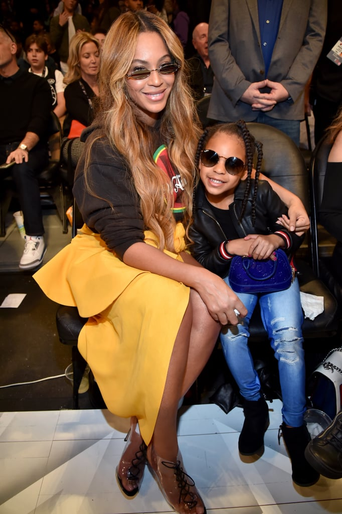 Beyoncé and Blue know how to put a smile on our faces. The adorable duo have a close-knit bond that oozes in every photo we see of them. Whether they're taking selfies at a basketball game or dressing up in over the top costumes for fancy galas, these two sure know how to make every moment count. Scroll through to see how Beyoncé and Blue are continuing their mommy-daughter cuteness overload this year. Warning: prepare to have your heart stolen.      Related:                                                                                                           33 Photos of Blue Ivy Carter That Are Fit For a Scrapbook