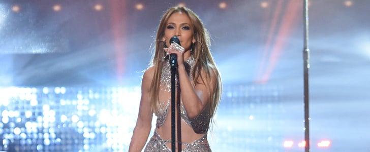 Jennifer Lopez Dresses at American Idol Season 14 Final