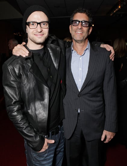 Pictures of Justin Timberlake and Josh Brolin at a Screening of True Grit in LA