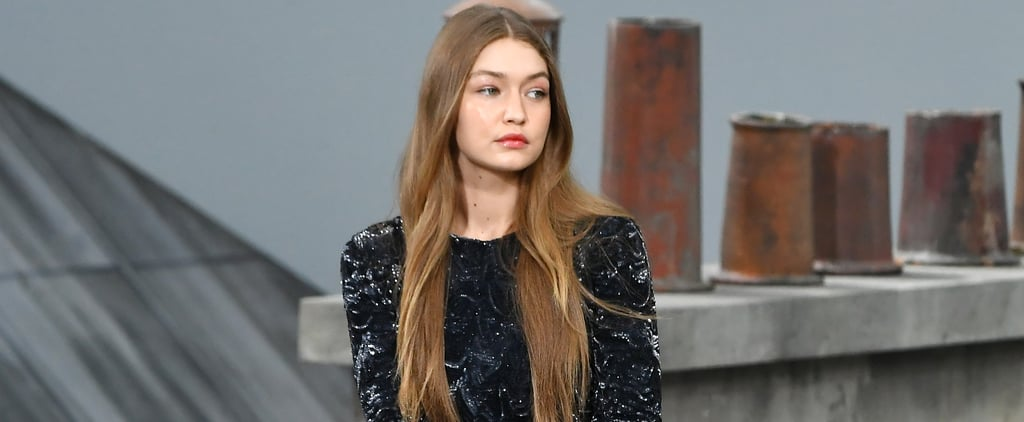 Gigi Hadid Escorts Crasher Off Chanel Runway in Paris