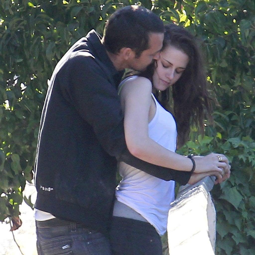 Kristen Stewart and Rupert Sanders Kissing | Pictures