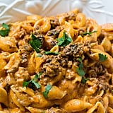 Creamy Shells and Beef