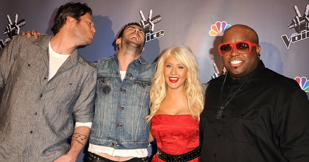 """Blake Shelton Says He and Adam Levine Initially Thought The Voice Was """"Pretty Ridiculous"""".jpg"""