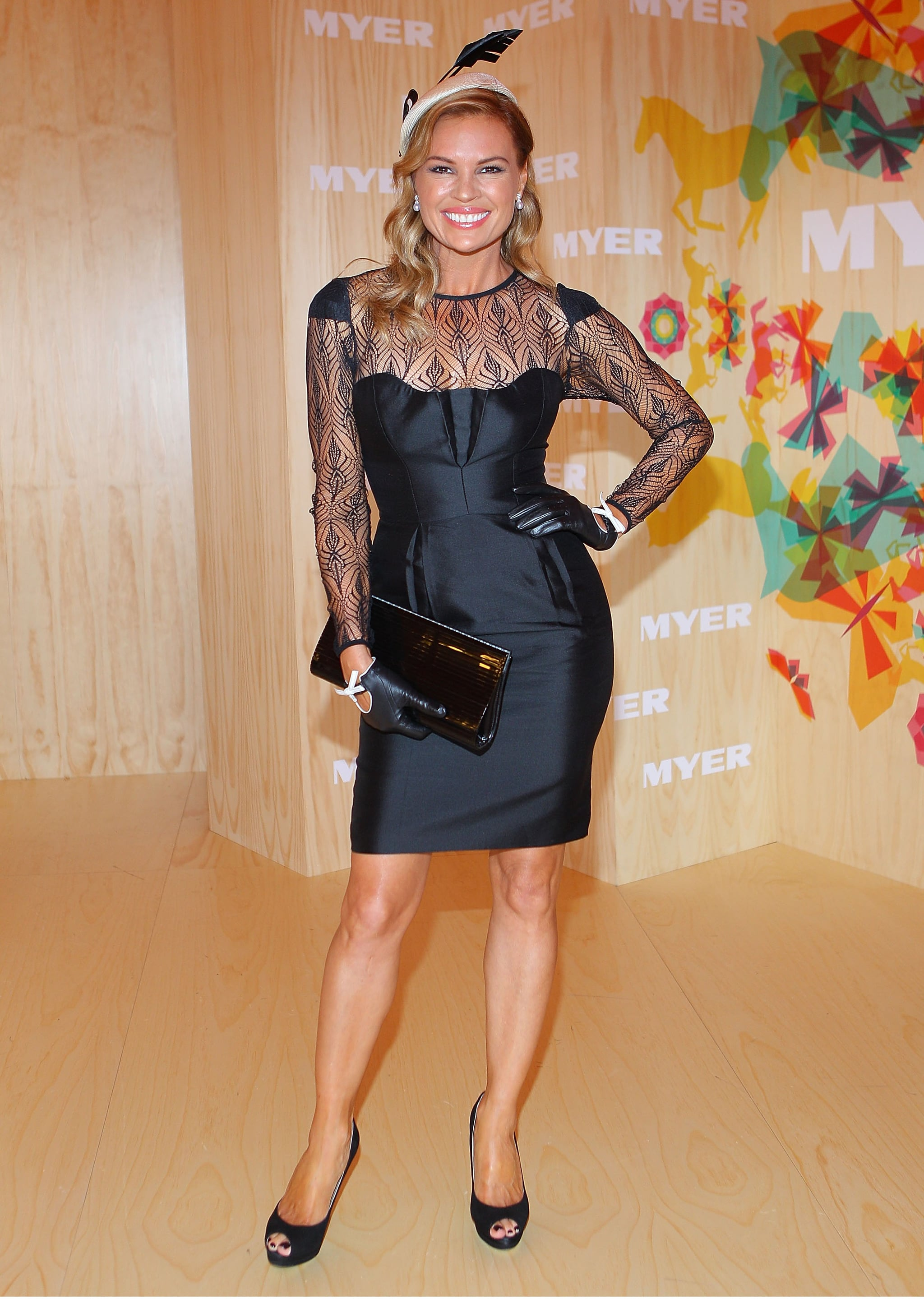 Sonia Kruger radiates old school glamour