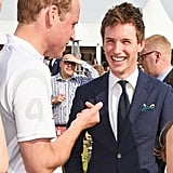 William and Eddie Redmayne