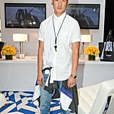 Richard Chai toted his eBay design at Lincoln Center.