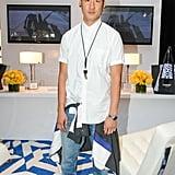 Richard Chai toted his eBay design at Lincoln Center.