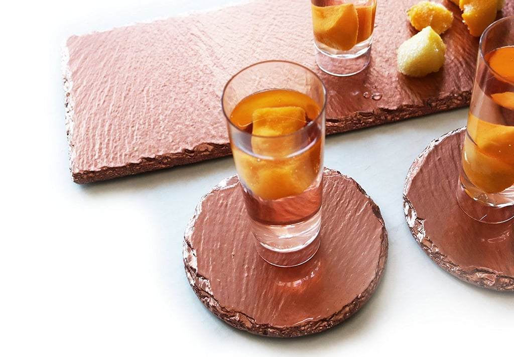 Renee Redesigns Rose Gold Drink Coasters