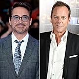 Robert Downey Jr. and Kiefer Sutherland