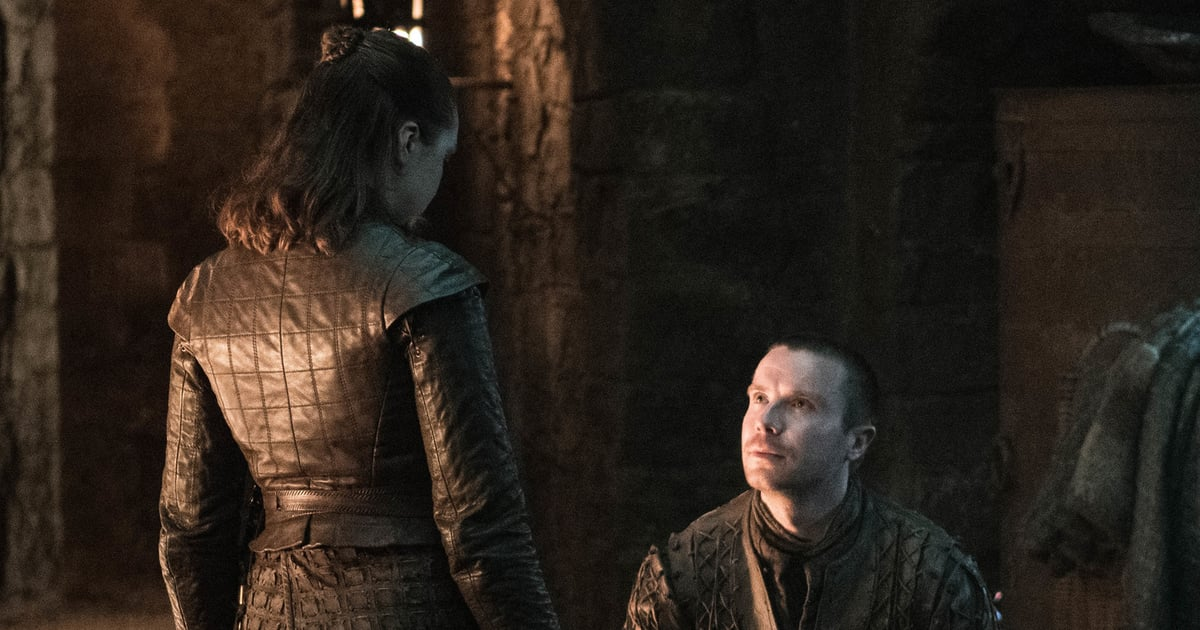Image result for gendry proposes